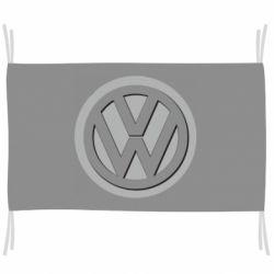 Прапор Логотип Volkswagen