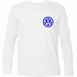 Футболка с длинным рукавом Volkswagen Logo - FatLine
