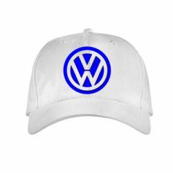 Детская кепка Volkswagen Logo - FatLine