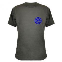 Камуфляжная футболка Volkswagen Logo - FatLine