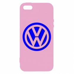 Чохол для iphone 5/5S/SE Логотип Volkswagen