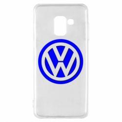 Чохол для Samsung A8 2018 Логотип Volkswagen