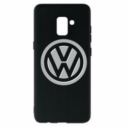 Чохол для Samsung A8+ 2018 Логотип Volkswagen
