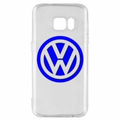 Чохол для Samsung S7 Логотип Volkswagen