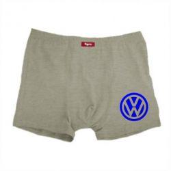 Мужские трусы Volkswagen Logo - FatLine