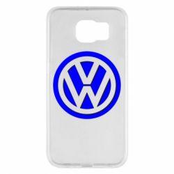 Чохол для Samsung S6 Логотип Volkswagen