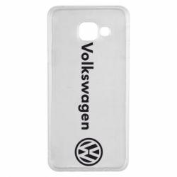 Чехол для Samsung A3 2016 Volkswagen Motors