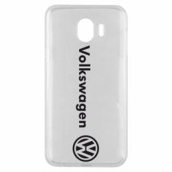 Чехол для Samsung J4 Volkswagen Motors