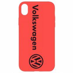 Чехол для iPhone XR Volkswagen Motors