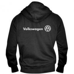 Мужская толстовка на молнии Volkswagen Motors - FatLine