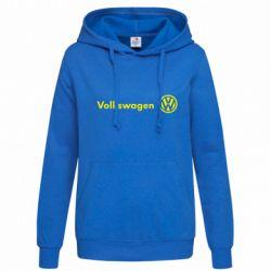 Женская толстовка Volkswagen Motors - FatLine