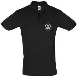 Мужская футболка поло Volkswagen new logo
