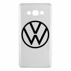 Чехол для Samsung A7 2015 Volkswagen new logo