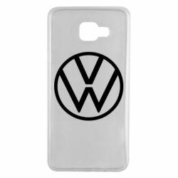 Чехол для Samsung A7 2016 Volkswagen new logo