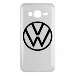 Чехол для Samsung J3 2016 Volkswagen new logo