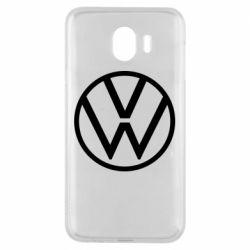 Чехол для Samsung J4 Volkswagen new logo