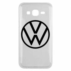 Чехол для Samsung J5 2015 Volkswagen new logo