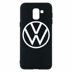 Чехол для Samsung J6 Volkswagen new logo