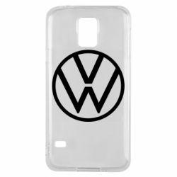Чехол для Samsung S5 Volkswagen new logo
