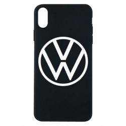 Чехол для iPhone Xs Max Volkswagen new logo