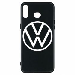 Чехол для Samsung A6s Volkswagen new logo