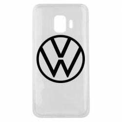 Чехол для Samsung J2 Core Volkswagen new logo