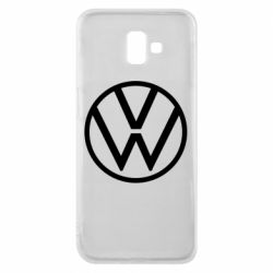 Чехол для Samsung J6 Plus 2018 Volkswagen new logo