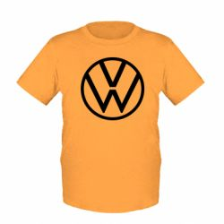 Детская футболка Volkswagen new logo