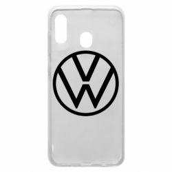 Чехол для Samsung A30 Volkswagen new logo