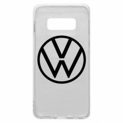 Чехол для Samsung S10e Volkswagen new logo