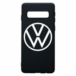 Чехол для Samsung S10 Volkswagen new logo
