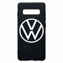 Чехол для Samsung S10+ Volkswagen new logo