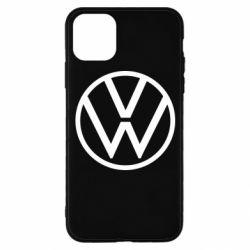Чехол для iPhone 11 Pro Volkswagen new logo