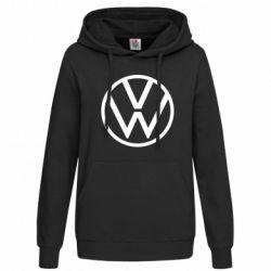 Женская толстовка Volkswagen new logo