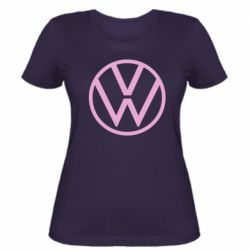 Женская футболка Volkswagen new logo