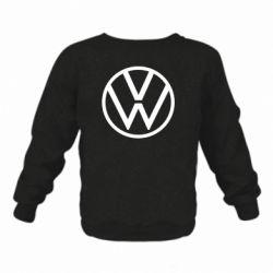 Детский реглан (свитшот) Volkswagen new logo