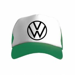 Детская кепка-тракер Volkswagen new logo