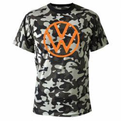 Камуфляжная футболка Volkswagen new logo