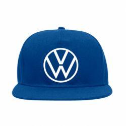 Снепбек Volkswagen new logo