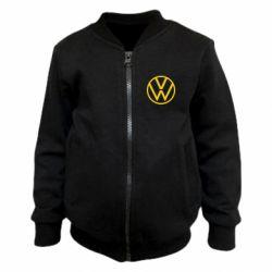 Детский бомбер Volkswagen new logo
