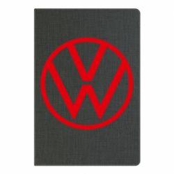 Блокнот А5 Volkswagen new logo