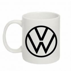 Кружка 320ml Volkswagen new logo