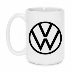 Кружка 420ml Volkswagen new logo