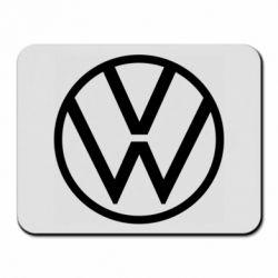 Коврик для мыши Volkswagen new logo