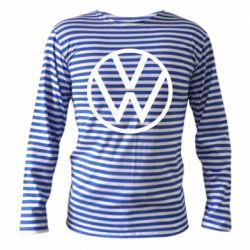 Тельняшка с длинным рукавом Volkswagen new logo