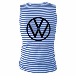 Майка-тельняшка Volkswagen new logo