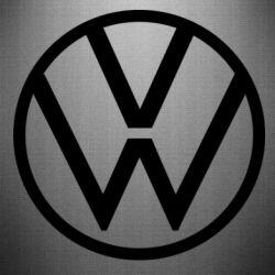 Наклейка Volkswagen new logo