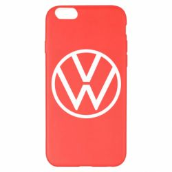 Чехол для iPhone 6 Plus/6S Plus Volkswagen new logo