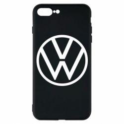 Чехол для iPhone 7 Plus Volkswagen new logo