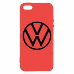 Чехол для iPhone5/5S/SE Volkswagen new logo